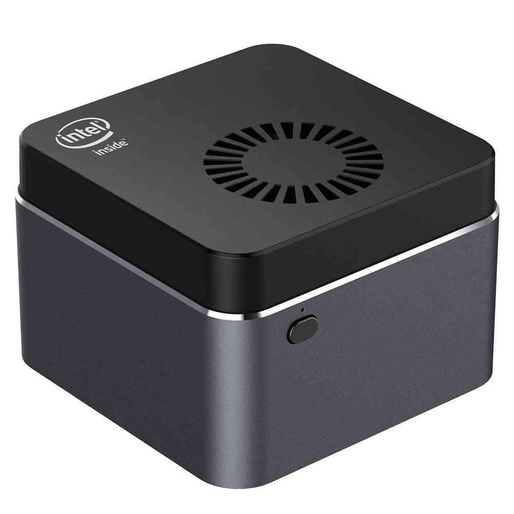 Quad-core Mini Pc Intel Celeron 128gb M.2 Ssd 2.4g/5.0g Wifi Bluetooth