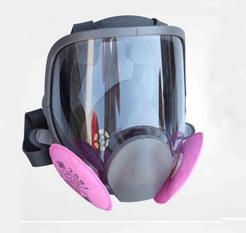 Painting Spraying Safety Respirator Gas Mask
