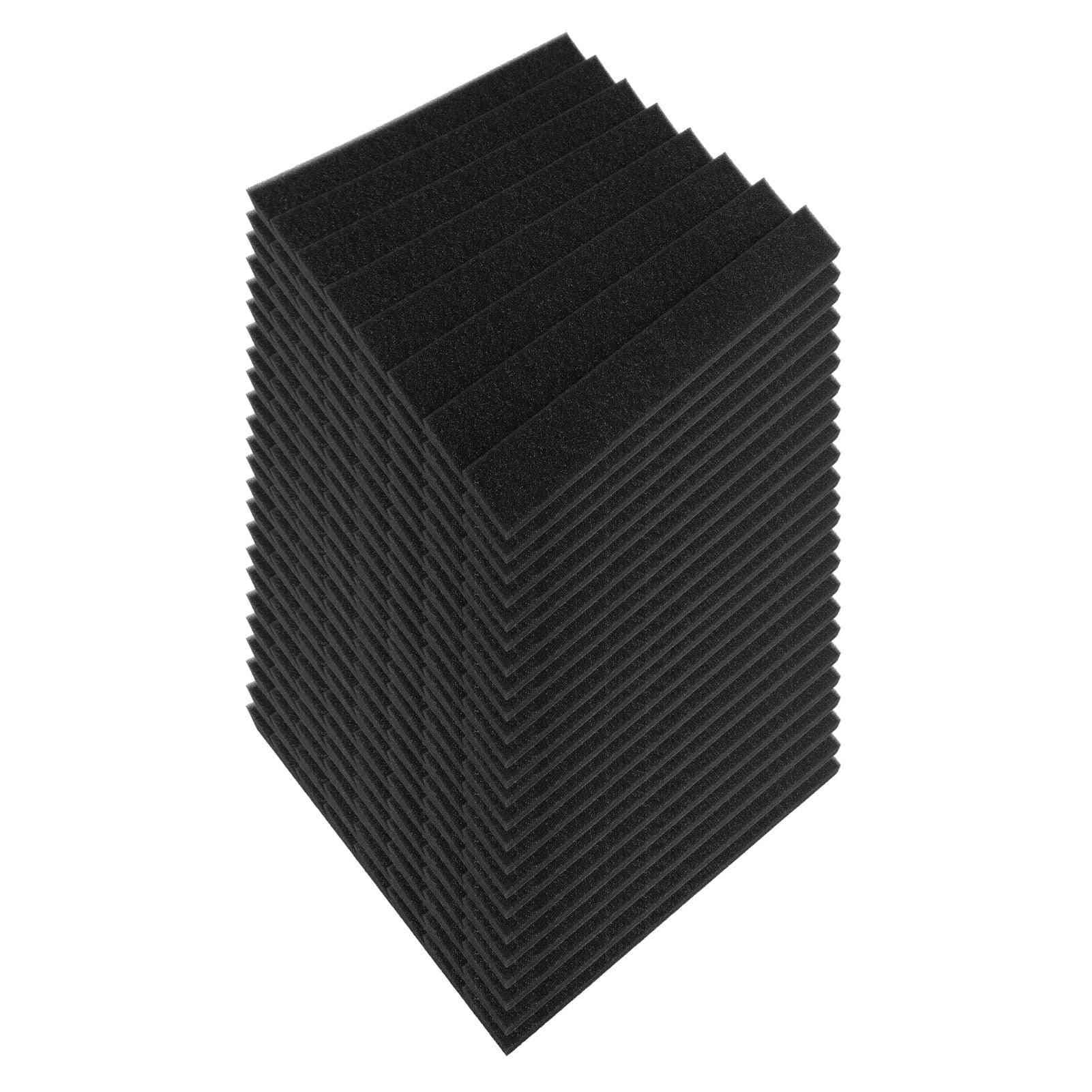 Studio Acoustic Foams Panels Sound Insulation, Soundproof, Absorbing Foam Wall Deadening Flame-retardant