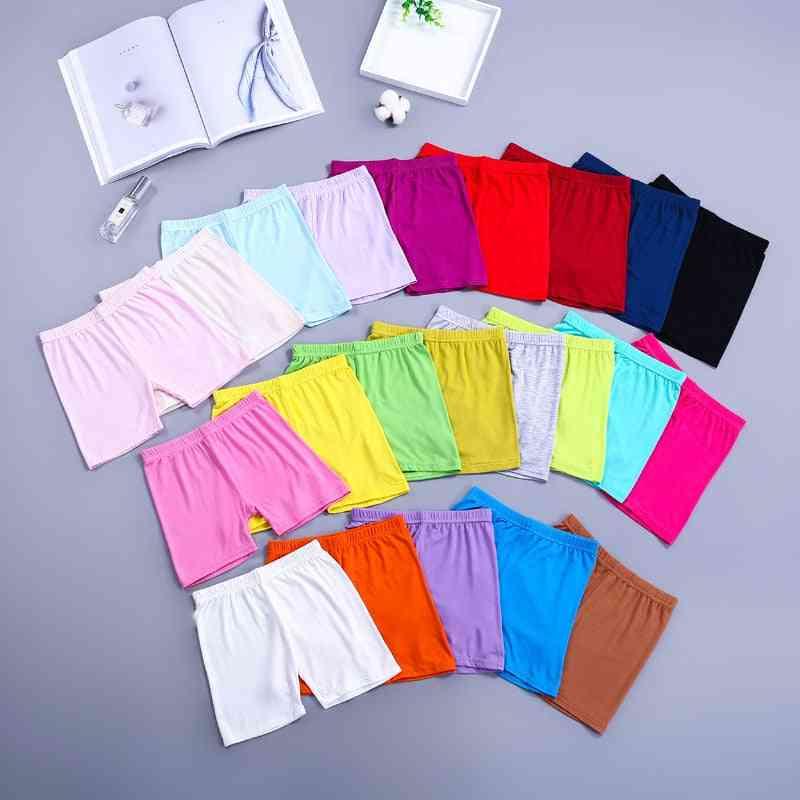 Girls Safety Shorts, Pants Underwear, Boxer