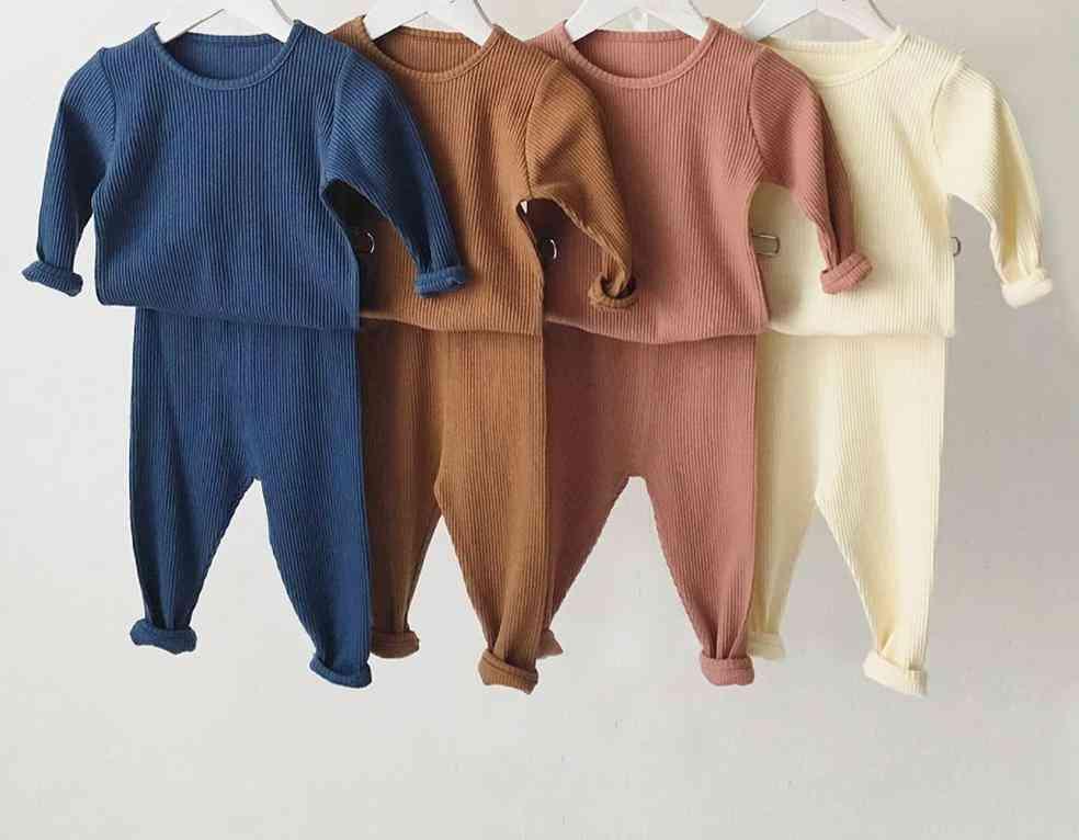 Kids Pajamas, Sleepwear Long Sleeve Sleepwear Set