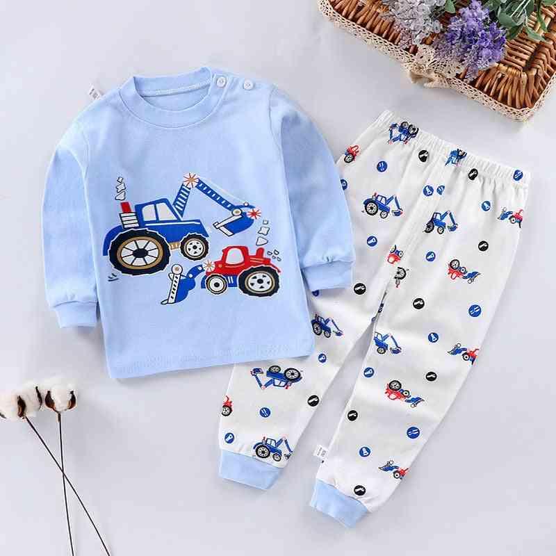 Children Pajamas, Kids Cartoon Sleepwear Baby Clothing Set