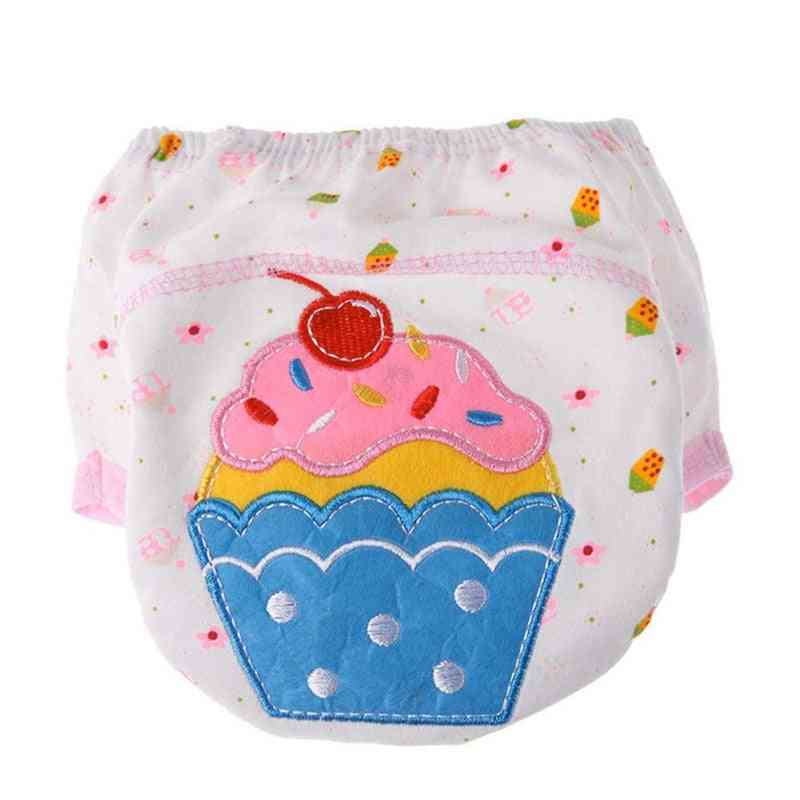 4pc/lot Waterproof Baby Potty Training Underwear Panties