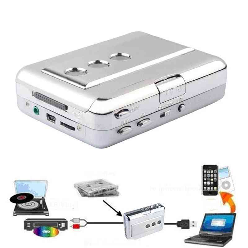 Usb Audio Capture Old Cassette Tape Converter To Mp3 Format Cd Player English Songs Walkman With Auto Reverse