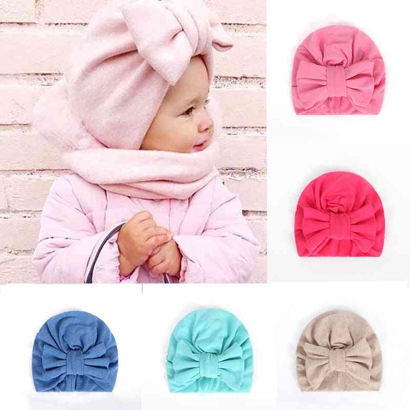 Balleenshiny Warm & Infant Lovely Bowknot Hats