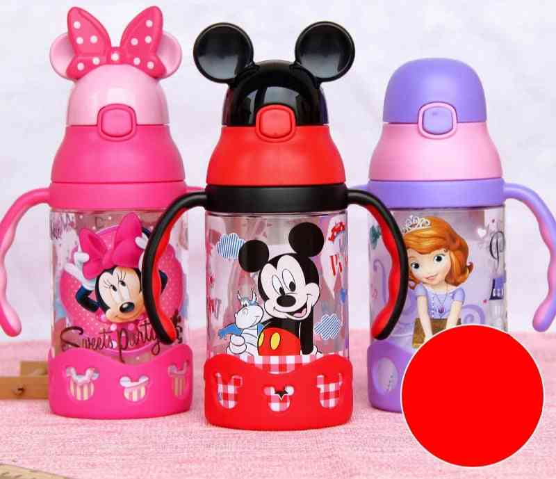 Disney Baby Cup's Sippy Mickey Learn To Drink Kettle Leak-proof With Handle