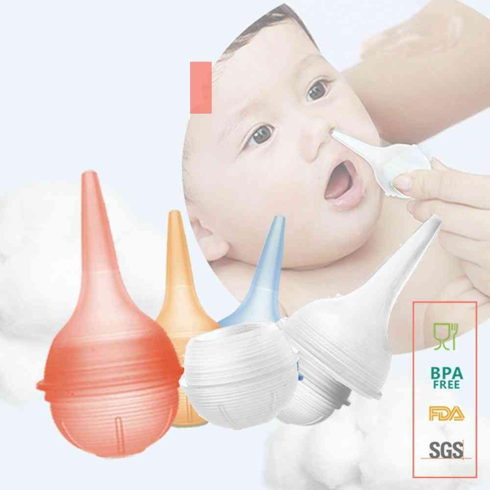 New Silicone Newborn Baby Nose Aspirator Vacuum Sucker