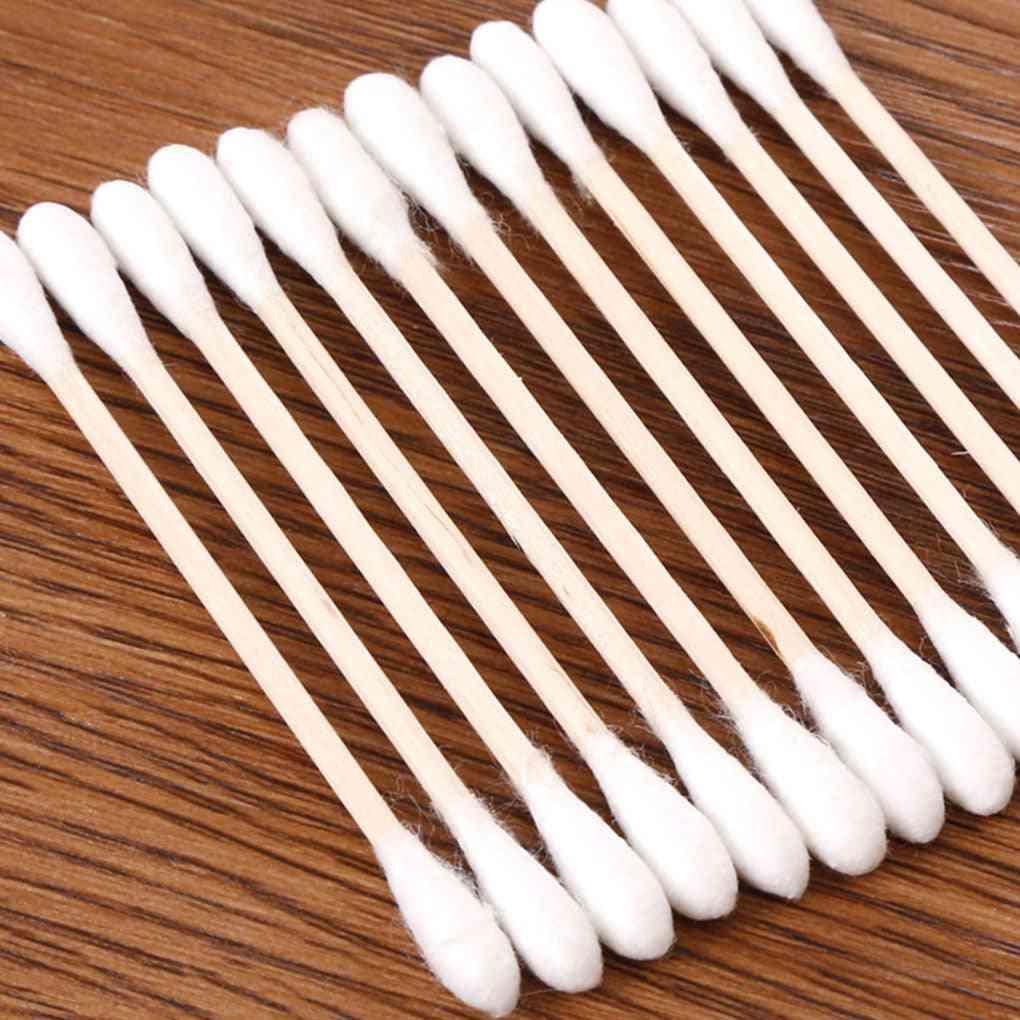 Double-headed Cotton Swab Stick