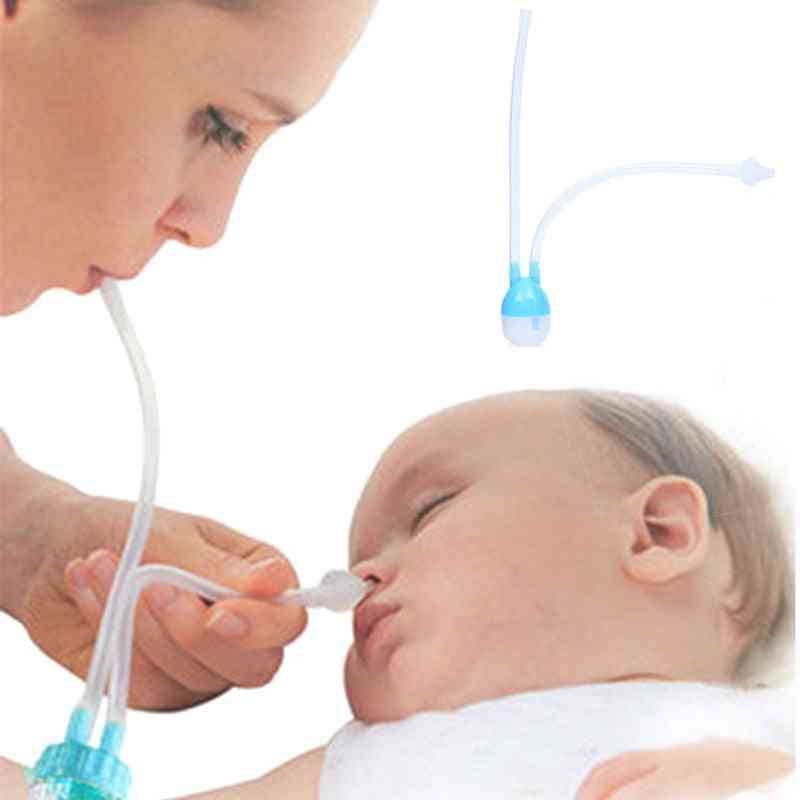 Baby Care Nasal Aspirator Silicone, Nose Clean Wash Preventing Backflow Baby Safety