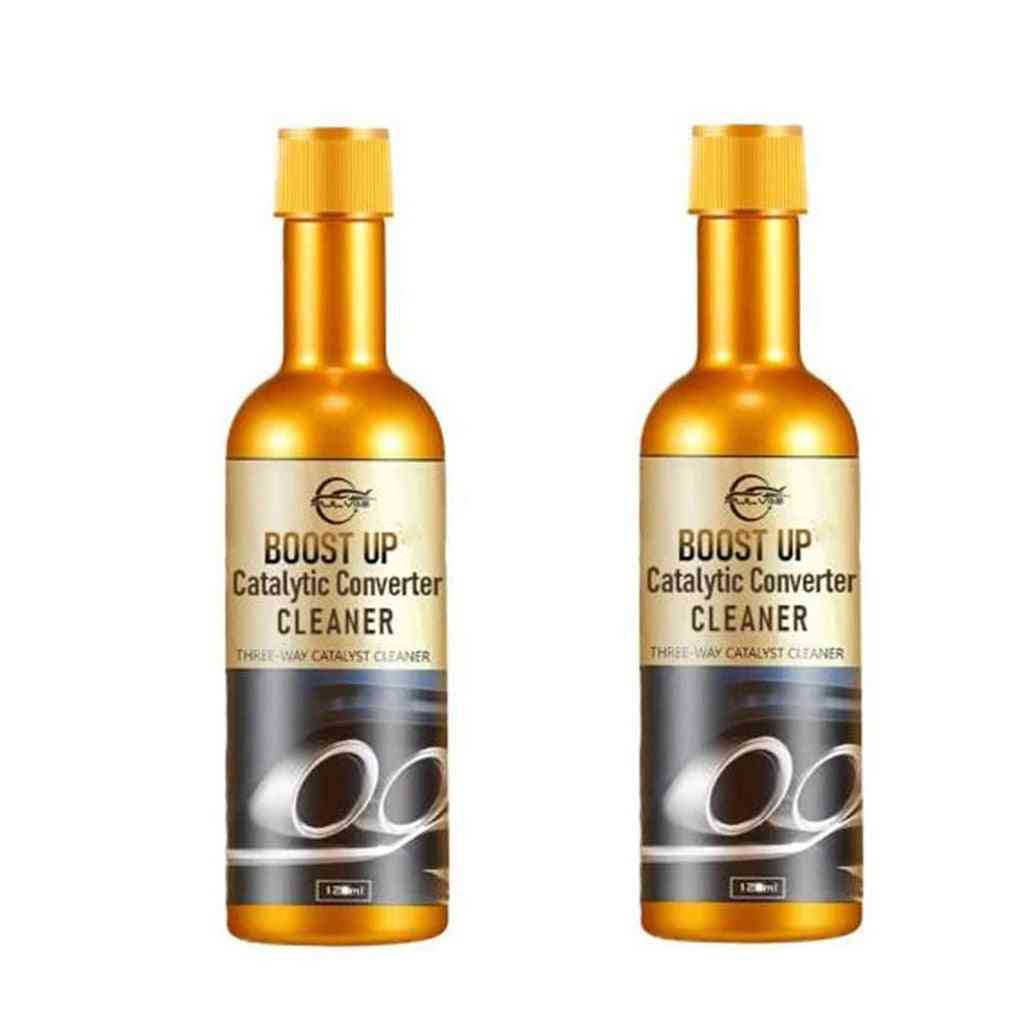 2pc 120ml Promotion Catalytic Converter Cleaners Automobile Cleaner (yellow)
