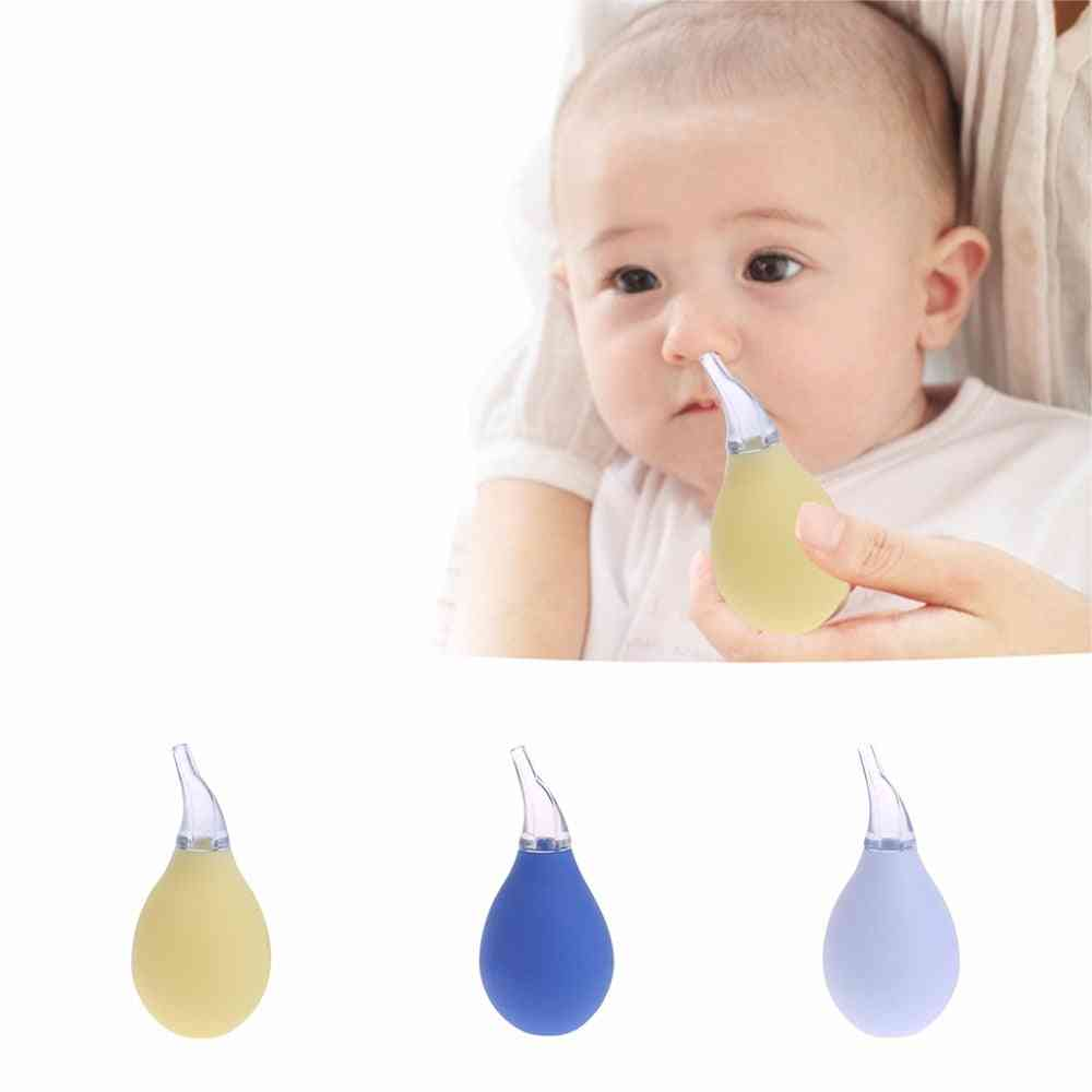 Newborn Nasal Aspirator, Suction Soft Tip Mucus Vacuum Runny Nose Cleaner