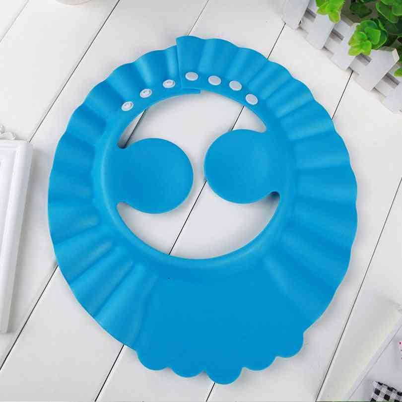Shampoo Cap Durable Baby Bath Visor Hat Adjustable Baby Shower Protect Eye