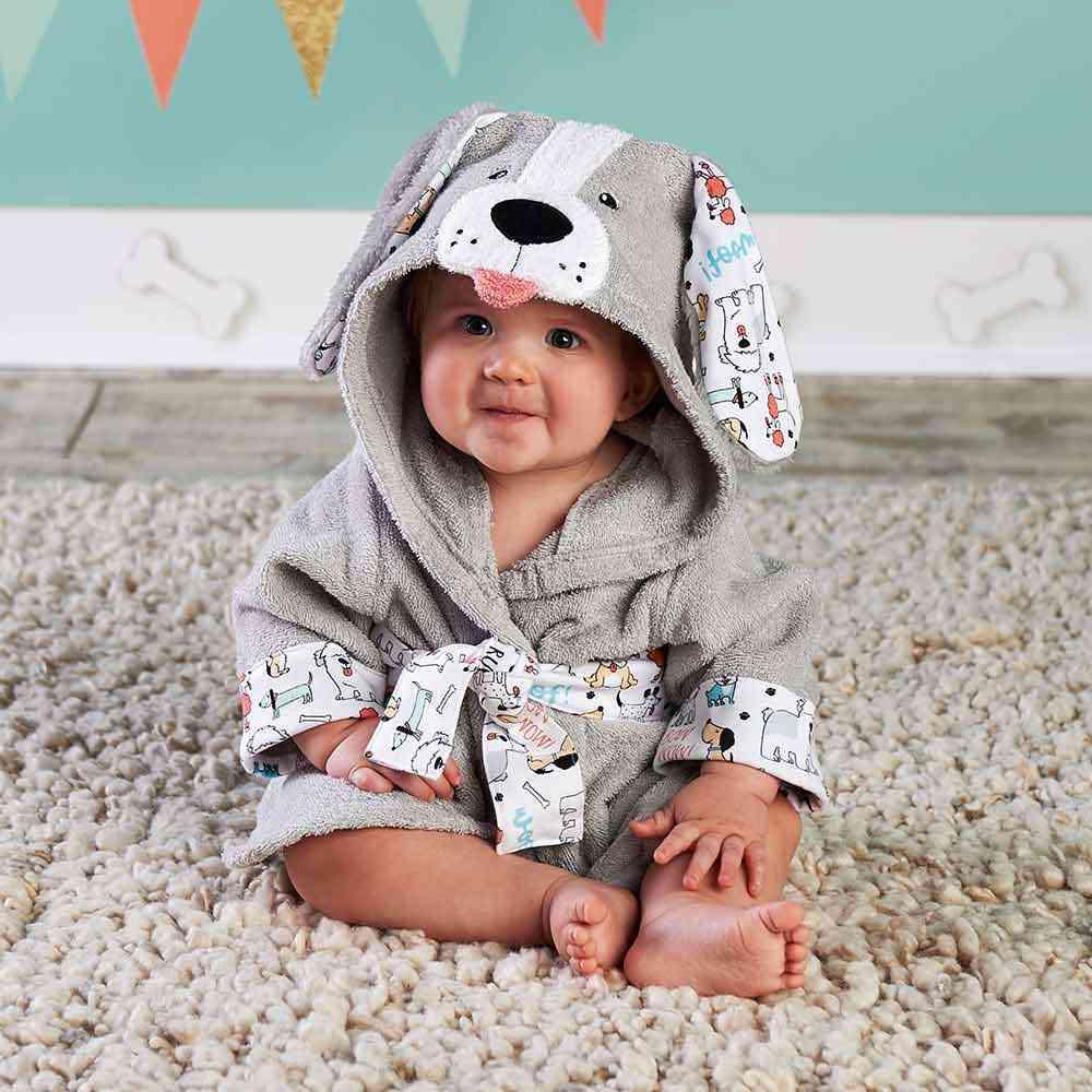37 Designs Hooded Animal Model In Baby Bathrobe/cartoon Baby Spa Towel/character