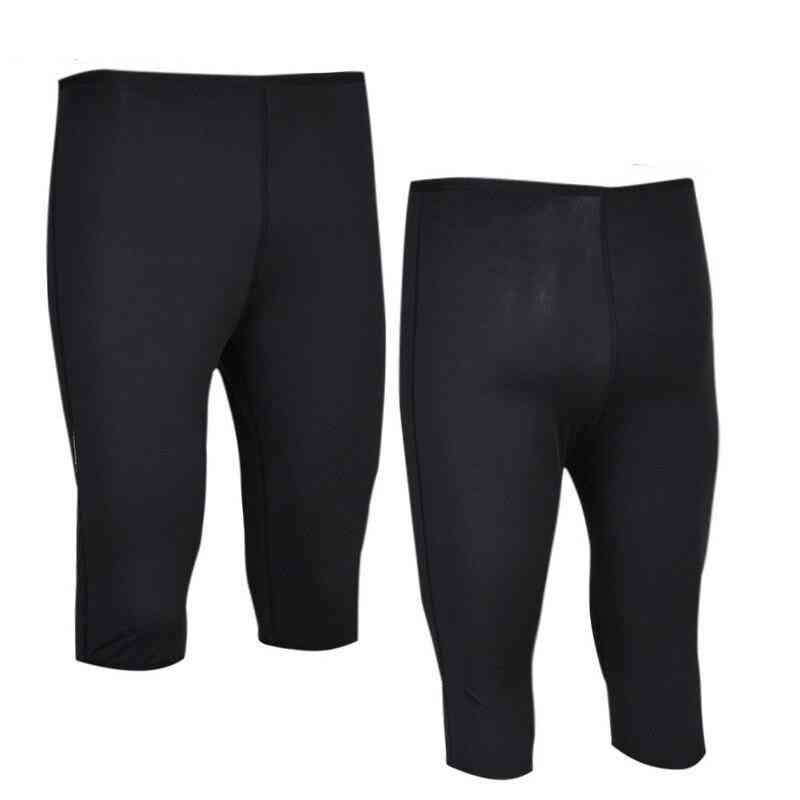 Men Shorts Sweat Sauna Shorts Body Shaper Waist Trainer Slimming Pants