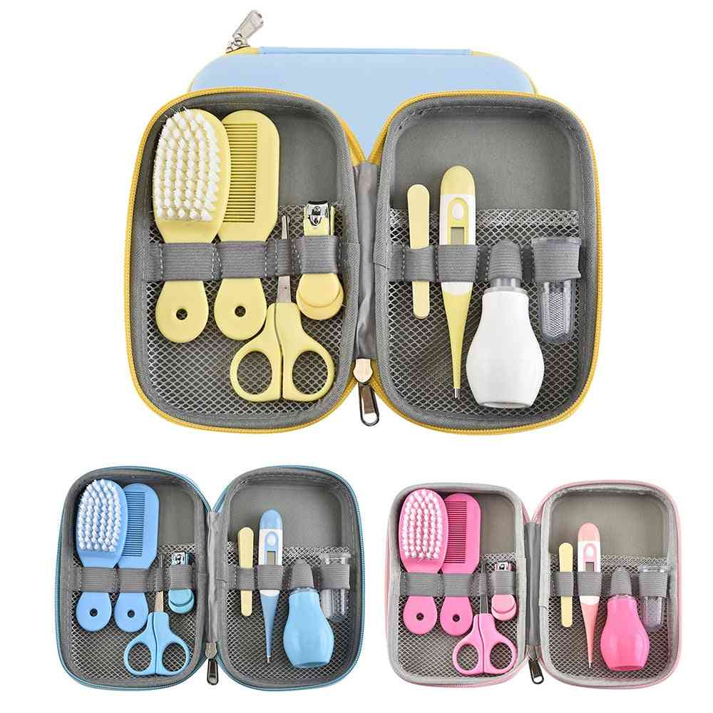 Baby Care Multifunction Healthcare Thermometer Hygiene Brush Infant Kit