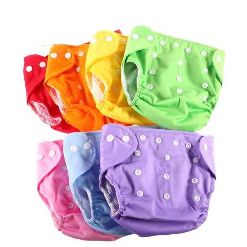 Newborn Baby Cloth Wrap Shape Reusable Diaper