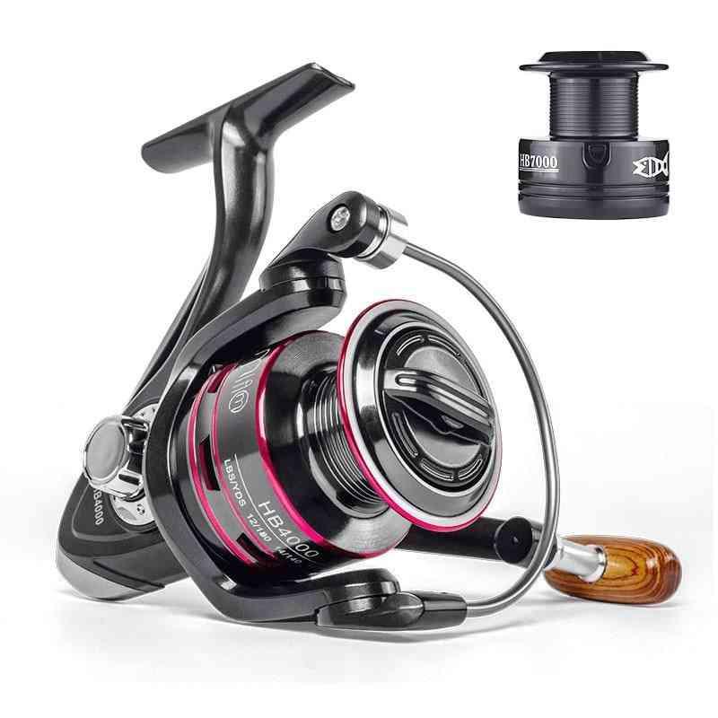 Fishing Reel All Metal Spool Spinning Reel