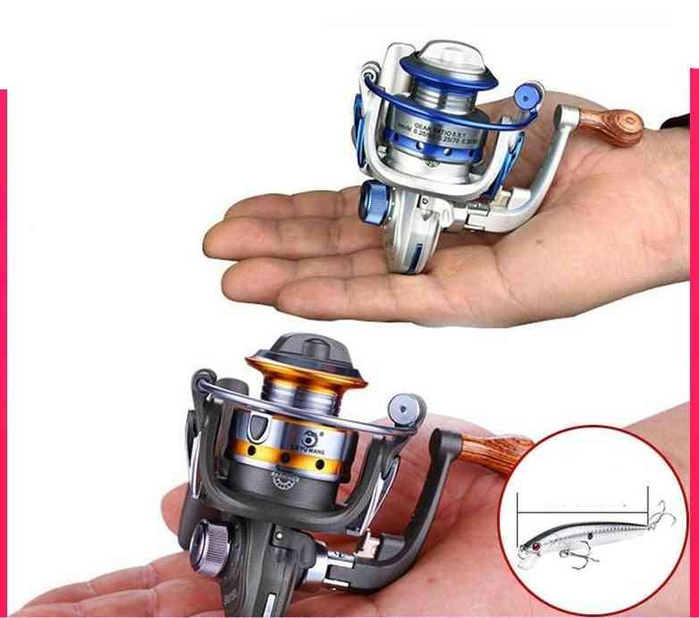 Mini Type Fishing Reel Spinning