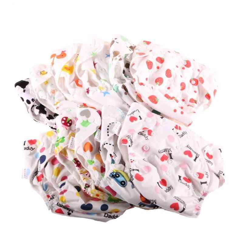 Washable Baby Cloth Diapers, Reusable Nappies, Training Pants