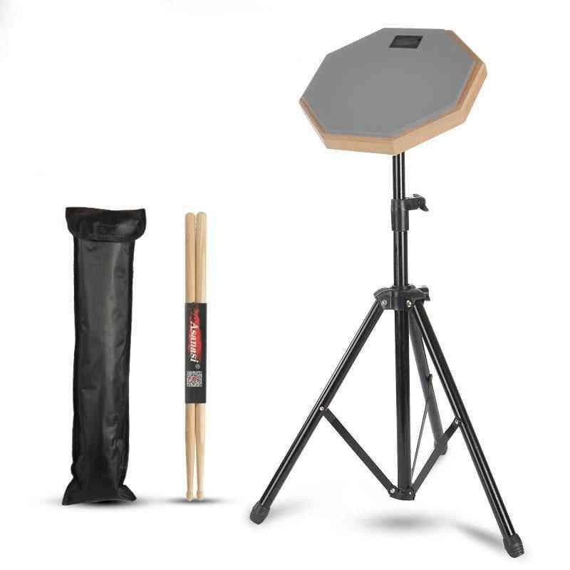 Rubber Wooden Dumb Drum For Beginner