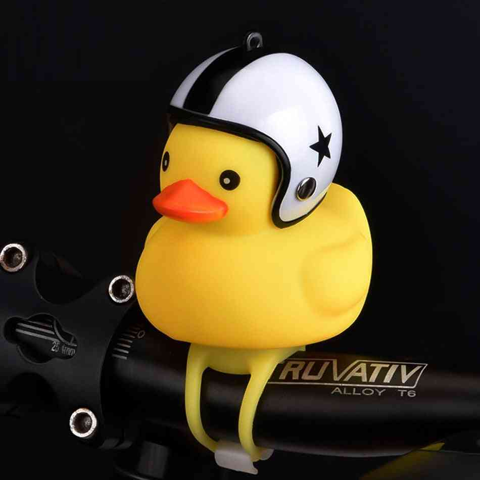 Worth While Bicycle Duck Bell With Light Broken Wind