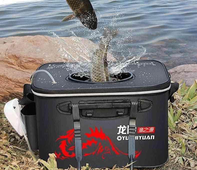 Handle Folding Fishing Bucket