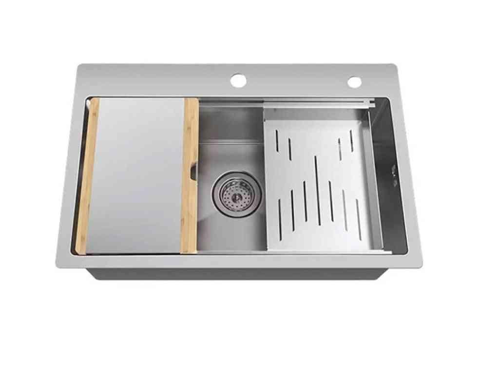 Mensarjor Kitchen Multi-function Combination Handmade Sink