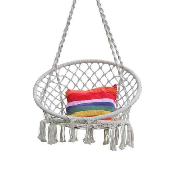 Round Nest Swing Hanger Net Rope Stout Swing Baby Toys