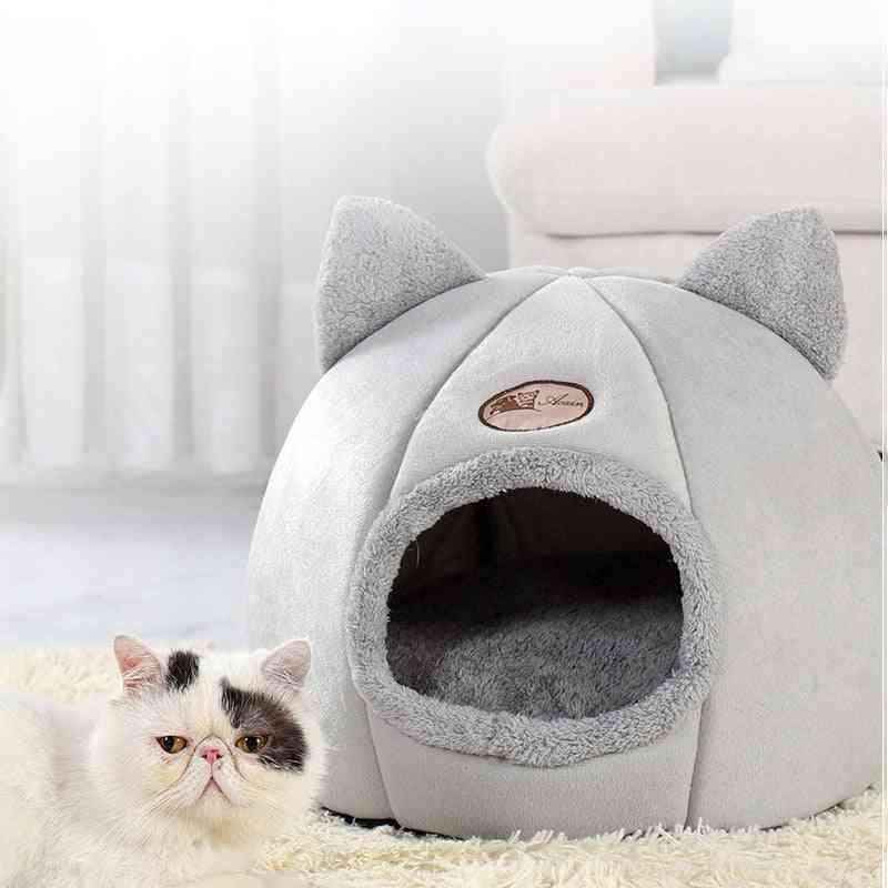 Pet Bed Cave House For Cat, Litter Mat, Pets Home Accessories, Pour Chat Cats Cozy Sleeping Beds