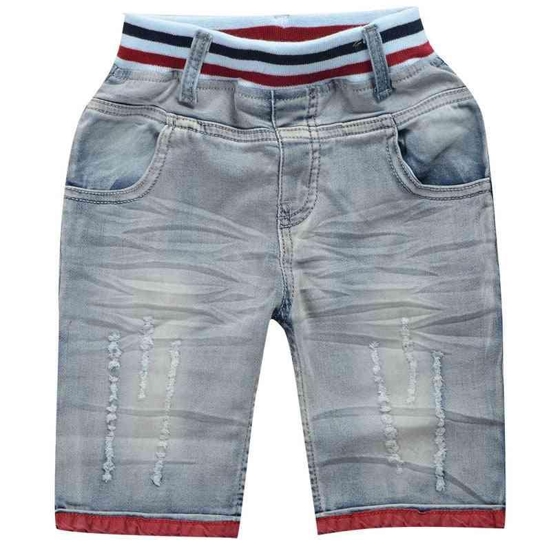 Summer Denim Shorts Fashion Elasticity Jeans Cowboy Shorts