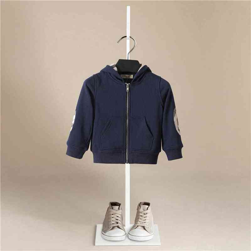 Autumn, Winter, Cotton Thick Paul Warm Hooded, Boy Sports Jackets, Agent Baby Coat