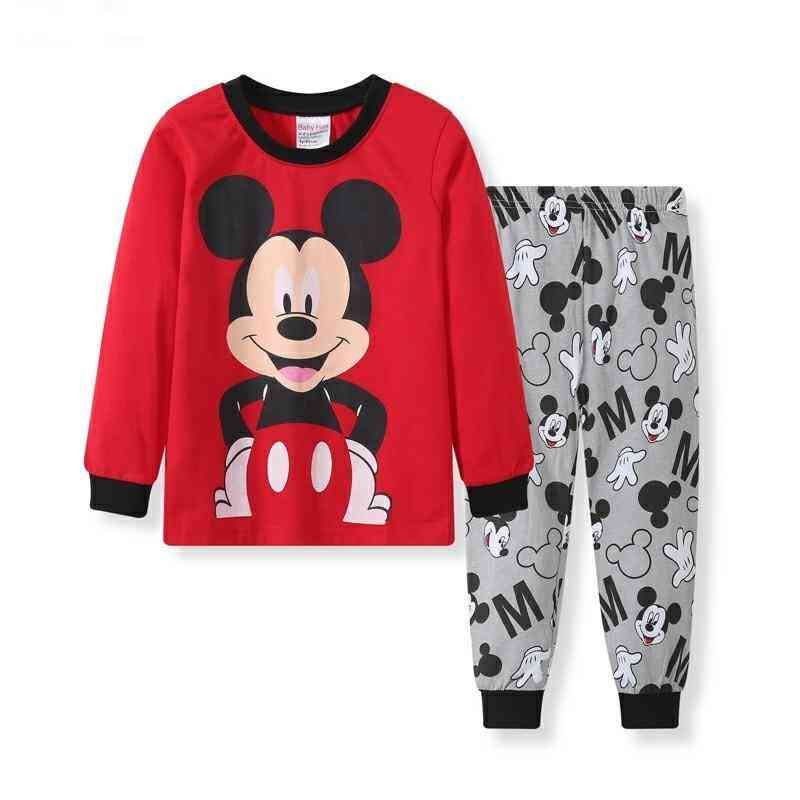Kids Pijama Set Pijamas Mickey