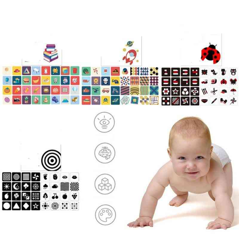 Visual Stimulation Training Early Education Card
