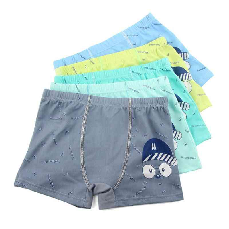 Cartoon Underwear, Soft, Breathable, Kids Boxer Baby Panties, Boy Briefs Underpants