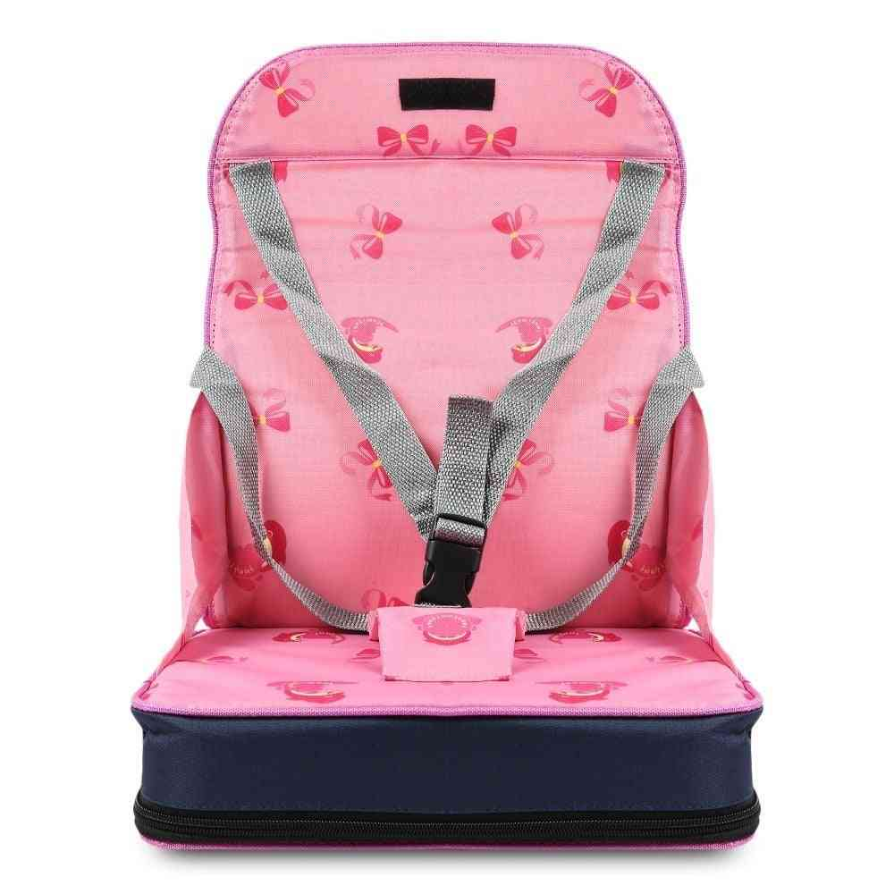 Foldable Chair Bag Kids Soft Booster Safety Seat Multifunctional Travel Bag For Infant Nursing Feeding