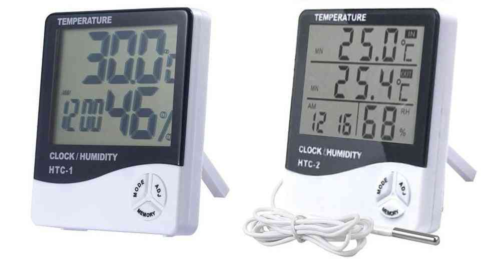 Lcd Electronic Digital Temperature Humidity Meter