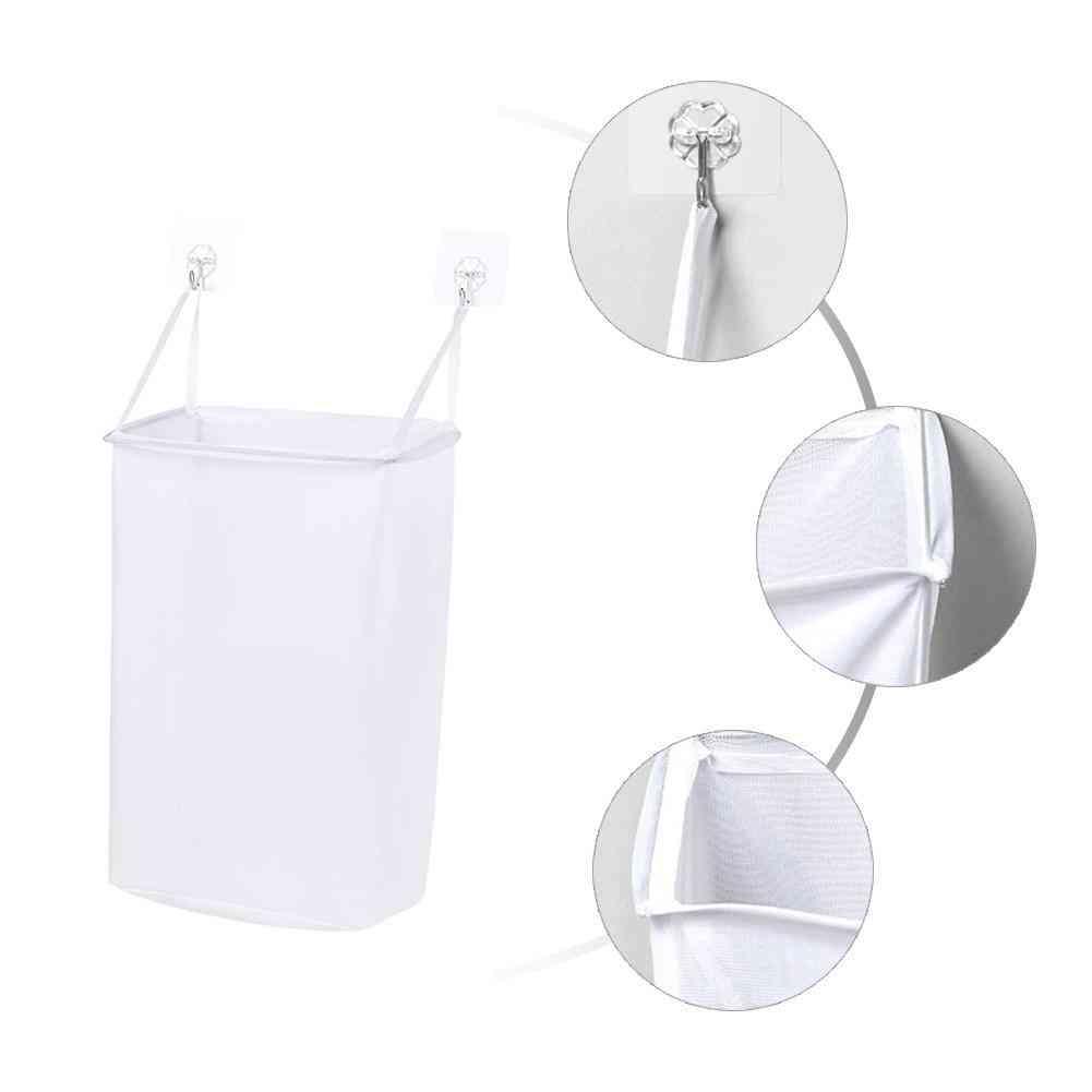 Portable Wall Hanging Laundry Basket Underwear Sock