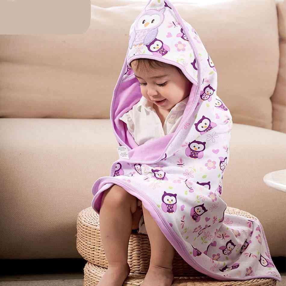 Baby Kids Hooded Bath Towel