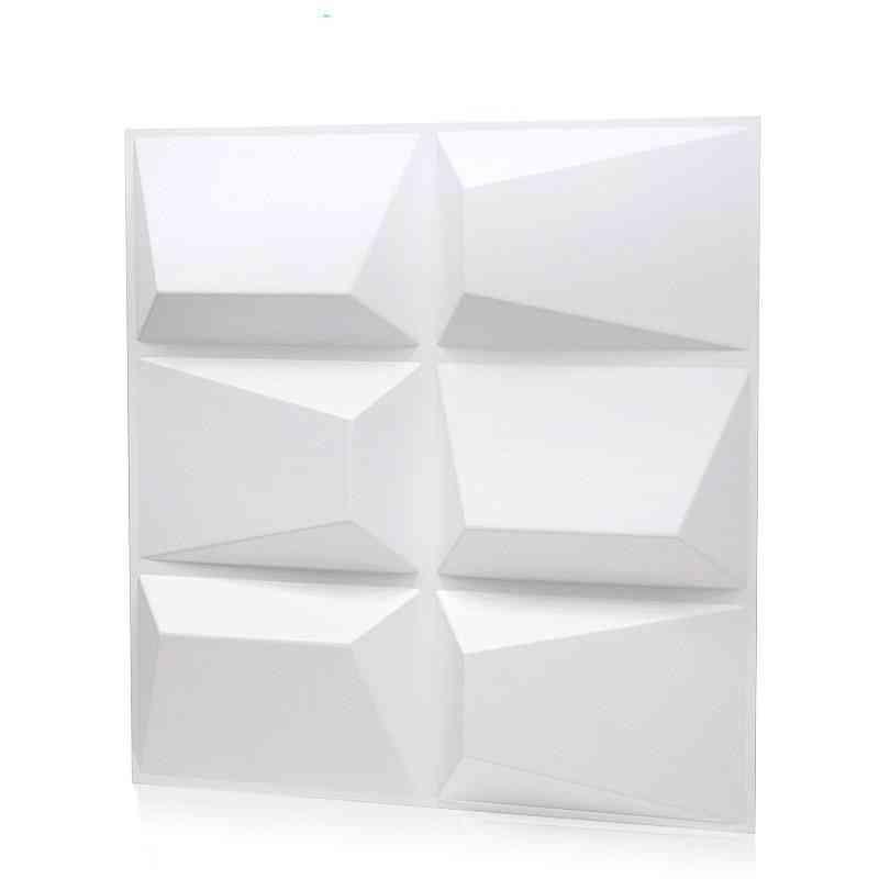 3d Wall Sticker Bathroom Kitchen (bright White)