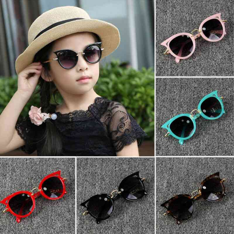 Kids Sunglasses- Protection Outdoor Eye Glasses, Uv400 Lens, Eyewear Shades Goggles