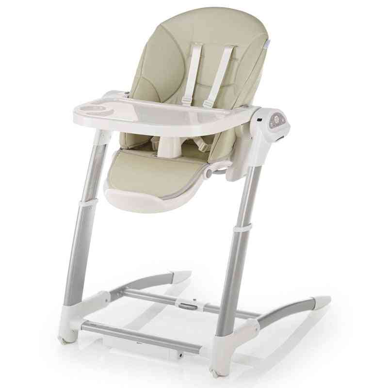Child Dining Chair, Electric Coax Artifact Baby Rocking Chair Multifunctional