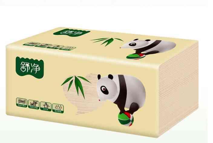 Original Bamboo Pulp Natural Colored Paper Towel