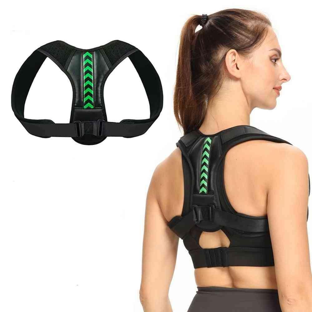 Adjustable Back Shoulder, Posture Corrector Belt, Spine Support, Reshape Body Upper, Back Neck Brace