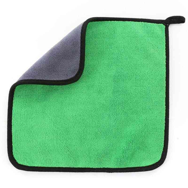 Thickened Car Cleaning Towel Microfiber Coral Velvet Cloth