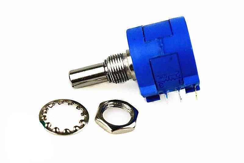 3590s-2 Series Resistance 100r 1k 10k 100k 200r 2k 20k 500r 5k 50k Ohm Potentiometer Adjustable Resistor