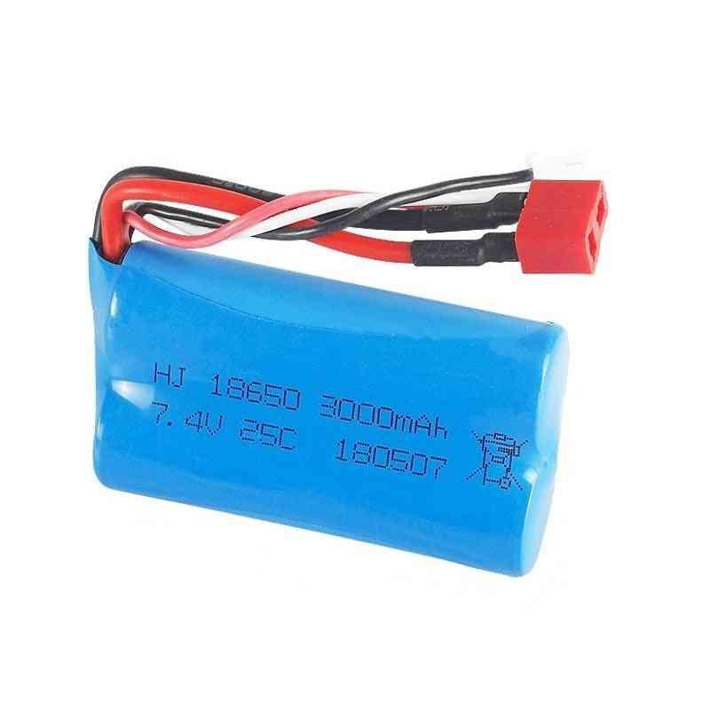 7.4v 3000mah Lipo Battery 18650 For Q46 Wltoys 10428 /12428/12423 Rc Car Spare Part