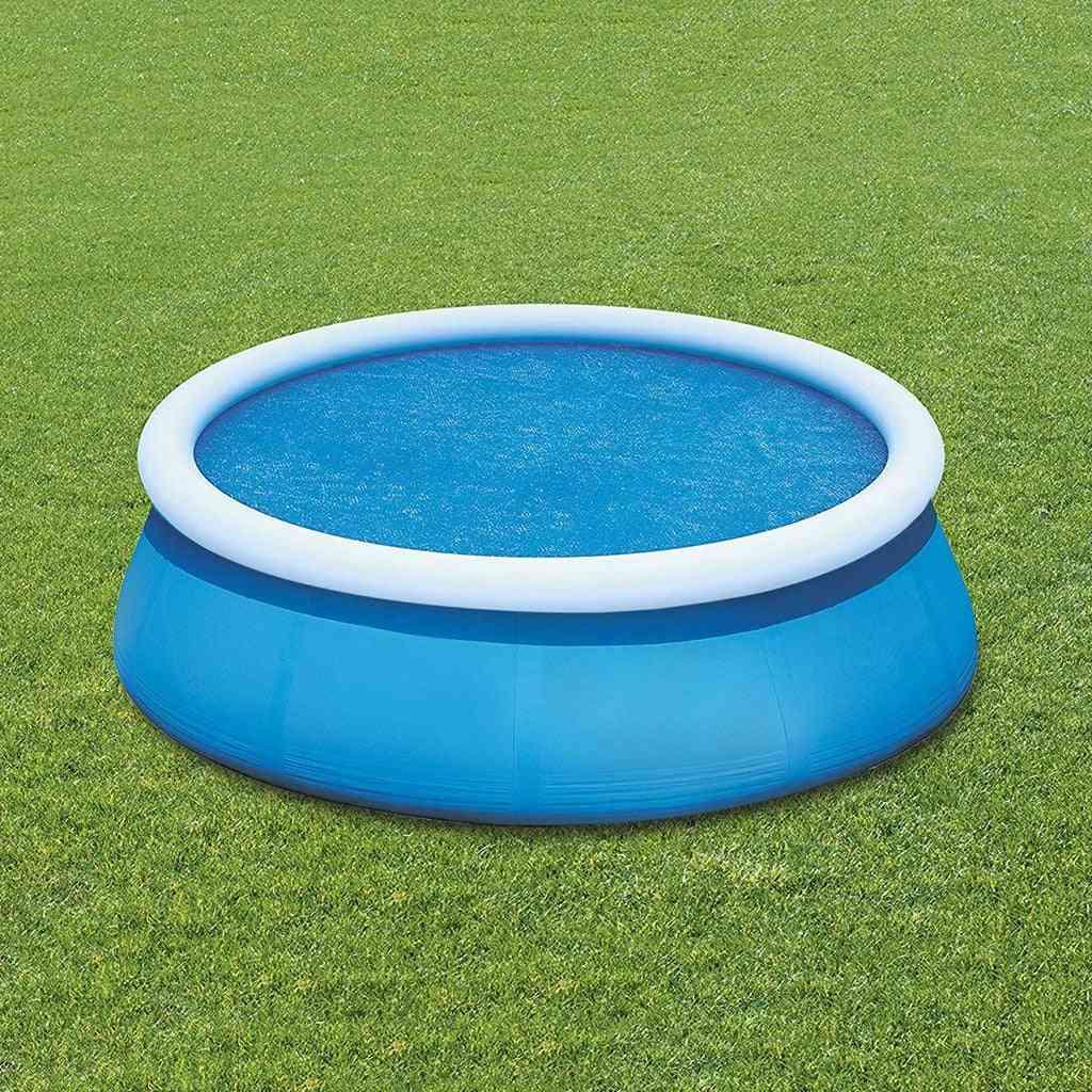 Swimming Pool Mat Uv-resistant Polyester Rainproof Dust Cover