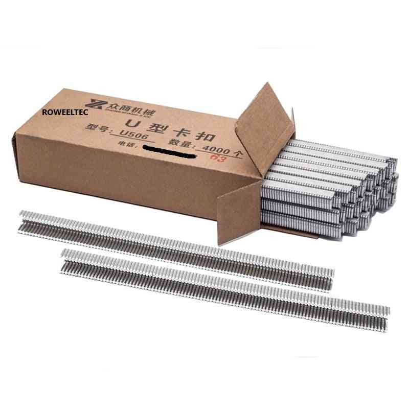 506 Clips For Manual U-shape Sausage Clipping Machine