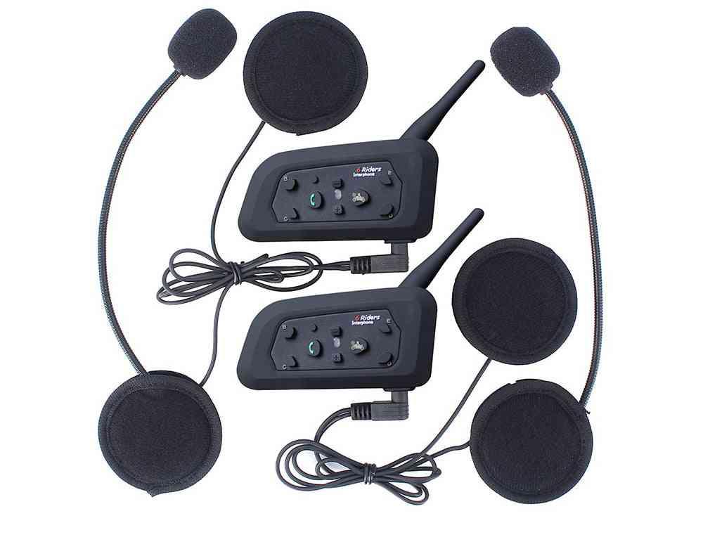Helmet Intercom Riders, Motorcycle Bluetooth Headset, Intercomunicador