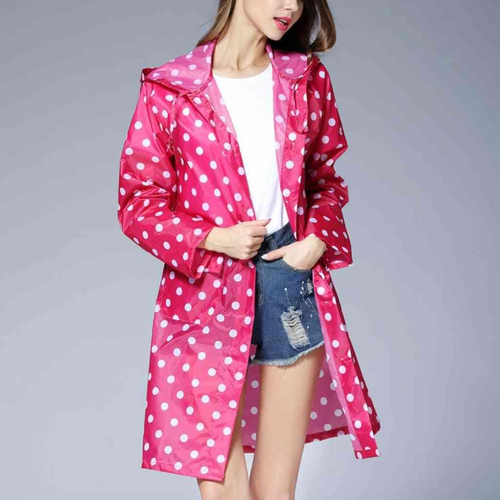 Wave Long Rain Jacket